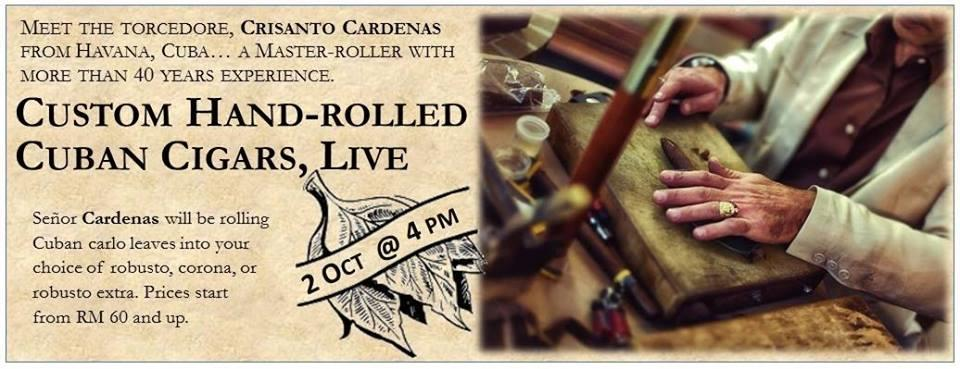Custom Hand-rolled Cuban Cigars, LIVE