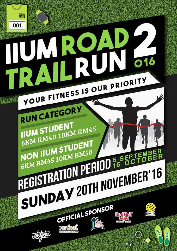IIUM Road2Trail RUN 16