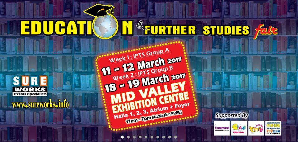 Education & Further Studies Fair – Series 45 (Week 2)