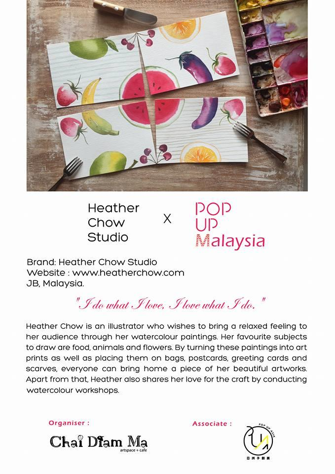 POP UP MALAYSIA ARTS & CRAFT MARKET 2017