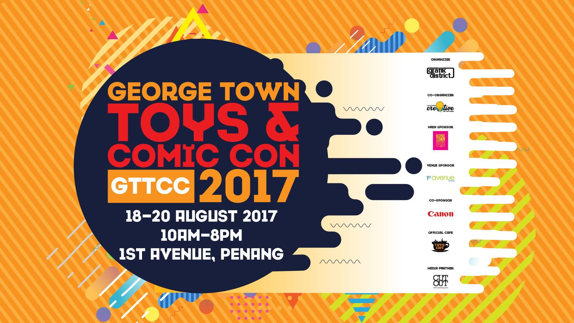 George Town Toys & Comic Con 2017