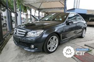 2010 Mercedes-Benz C180 CGI 1.8 BLUEEFFICIENCY