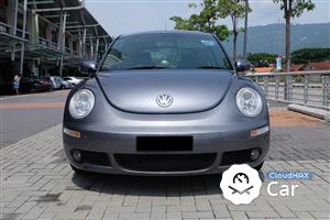 2007 Volkswagen Beetle 2.0 (A) FSI 1 LADY OWNER LOW MILEAGE 71K KMS MILEAGE LIKE NEW IMPORTED NEW CBU